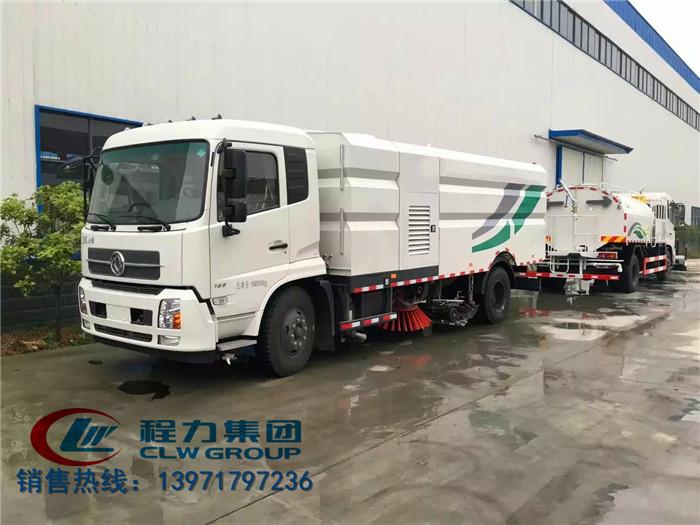 东风天锦洗扫车|16吨洗扫车