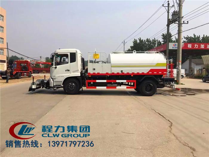 东风天锦路面清扫车10