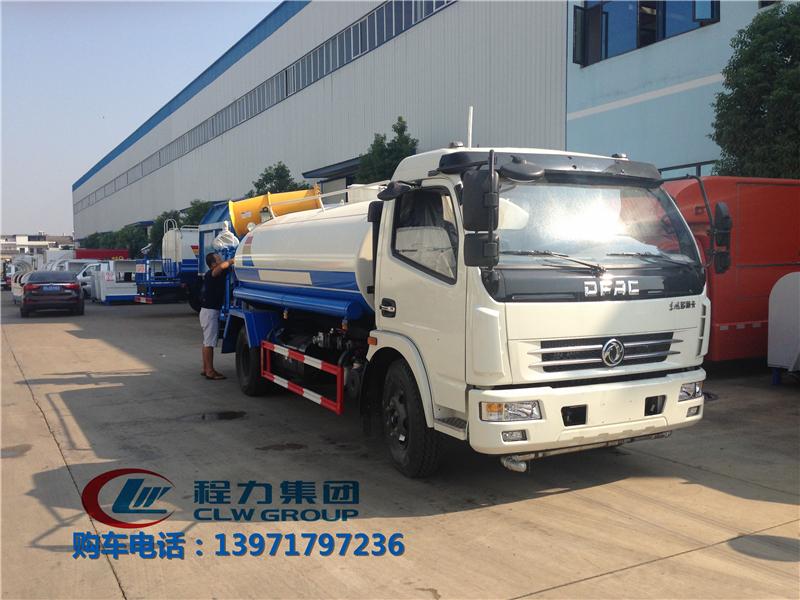 东风农药喷洒车|7吨农药喷洒车
