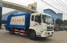 东风天锦压缩式垃圾车|12吨压缩垃圾车
