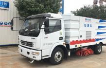东风多利卡扫路车︱8吨扫路车