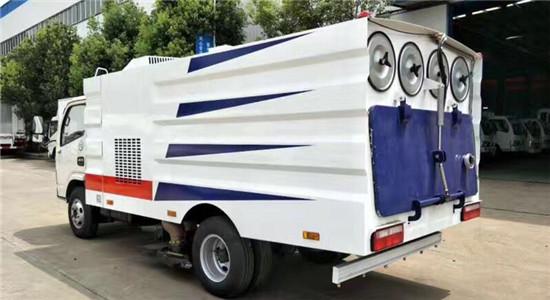 东风小多利卡吸尘车︱5吨吸尘车图片