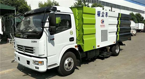 东风多利卡吸尘车︱8吨吸尘车