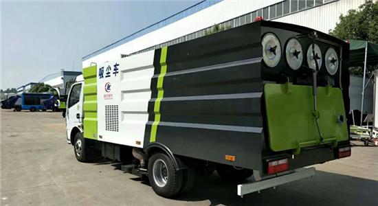 东风多利卡吸尘车︱8吨吸尘车图片