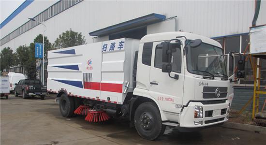 东风天锦扫路车︱12吨扫路车