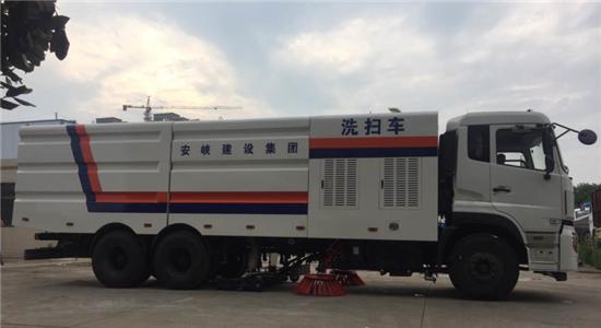 东风天龙洗扫车︱20吨洗扫车图片