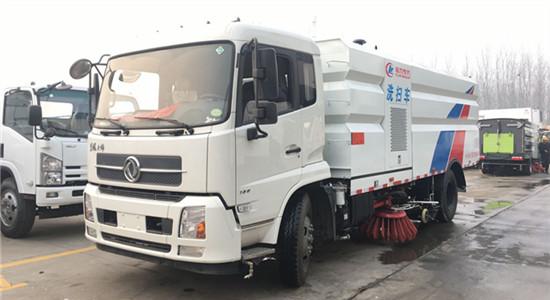 东风天锦洗扫车︱15吨洗扫车