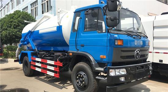 东风145吸污车︱8吨吸污车