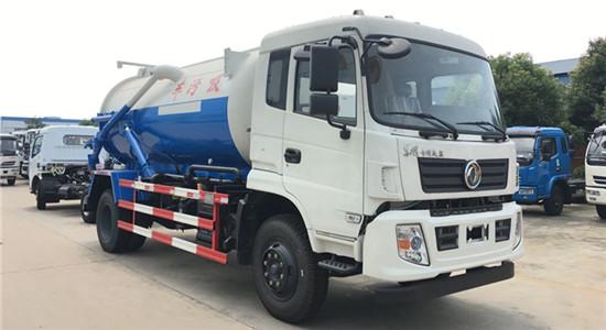 东风D913吸污车︱10吨吸污车