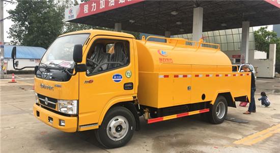 东风清洗吸粪车︱4吨清洗吸污车