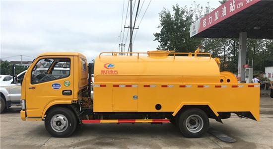东风清洗吸粪车︱4吨清洗吸污车图片