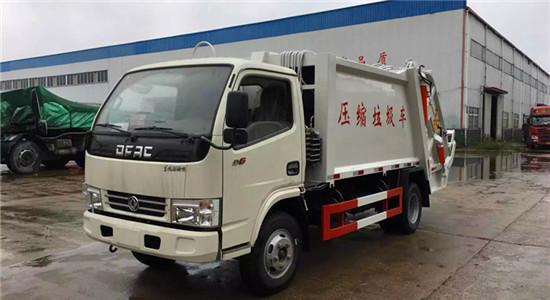 东风多利卡压缩垃圾车︱5吨压缩垃圾车