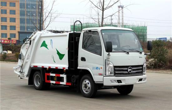 凯马压缩式垃圾车︱3吨压缩垃圾车