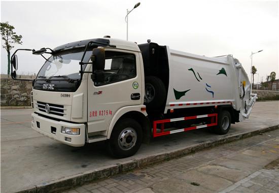 东风多利卡压缩式垃圾车︱8吨压缩垃圾车