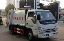 福田压缩式垃圾车︱3吨压缩垃圾车