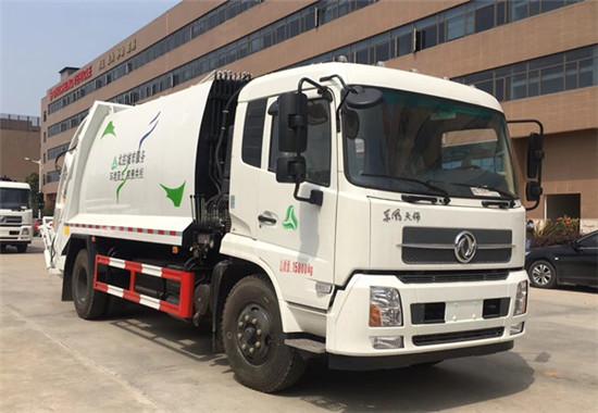 东风天锦压缩式垃圾车︱12吨压缩垃圾车