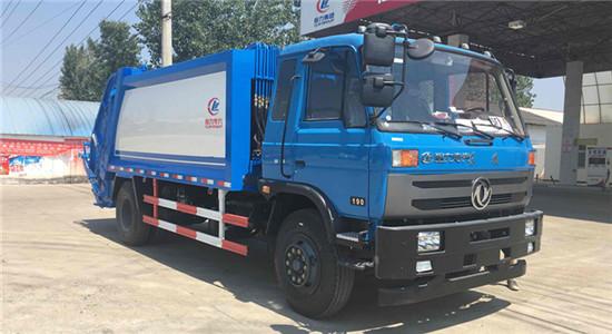 东风145压缩式垃圾车︱10吨压缩式垃圾车