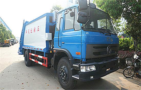 东风153压缩式垃圾车︱12吨压缩式垃圾车