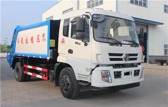 东风御虎压缩式垃圾车︱12吨压缩垃圾车