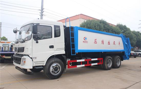 东风后八轮压缩式垃圾车︱18吨压缩式垃圾车
