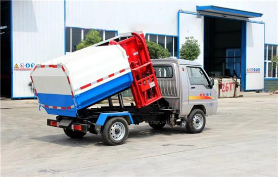 凯马挂桶式垃圾车︱2吨挂桶式垃圾车图片