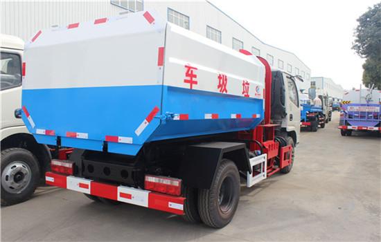东风多利卡挂桶式垃圾车︱5吨挂桶式垃圾车图片
