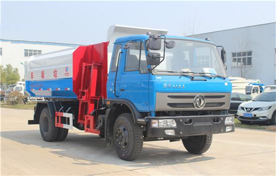 东风145挂桶式垃圾车︱12吨挂桶式垃圾车