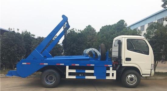 东风多利卡摆臂式垃圾车︱5吨摆臂式垃圾车图片