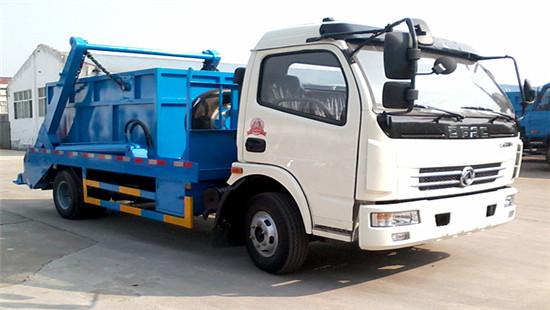 东风多利卡摆臂式垃圾车︱6吨摆臂式垃圾车