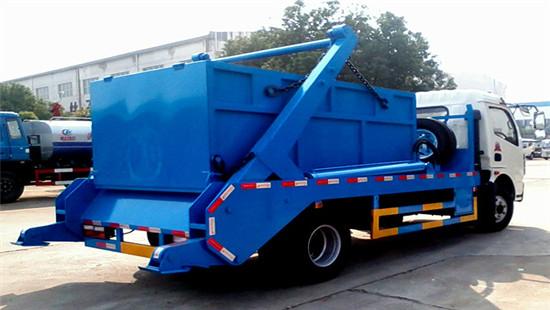 东风多利卡摆臂式垃圾车︱6吨摆臂式垃圾车图片