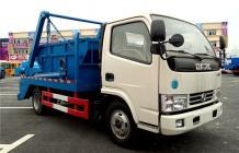 东风多利卡摆臂式垃圾车︱5吨摆臂垃圾车