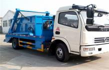 东风多利卡摆臂式垃圾车︱6吨摆臂垃圾车