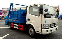 东风多利卡摆臂式垃圾车︱5吨摆臂式垃圾车