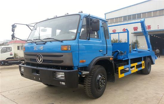 东风145摆臂式垃圾车︱8吨摆臂式垃圾车