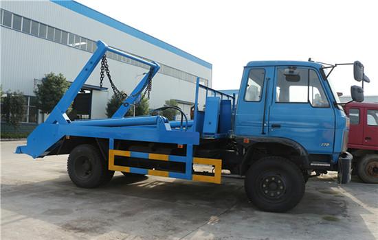 东风145摆臂式垃圾车︱8吨摆臂式垃圾车图片