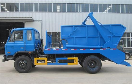东风153摆臂式垃圾车︱10吨摆臂式垃圾车图片