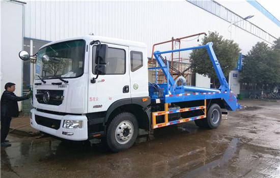 东风D9摆臂式垃圾车︱10吨摆臂式垃圾车