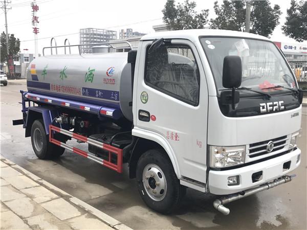 东风多利卡洒水车︱5方洒水车