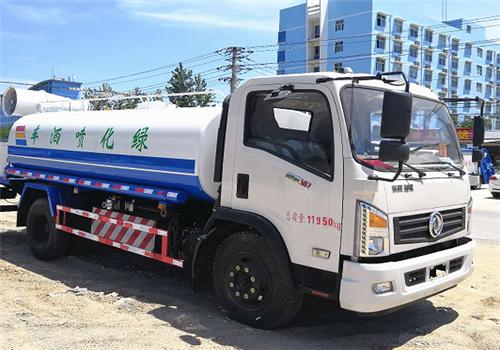 东风天然气洒水车︱10吨洒水车