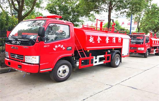 东风消防洒水车︱5方消防洒水车