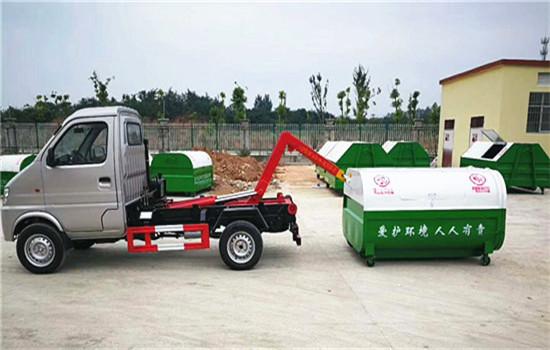 长安(3方)勾臂式垃圾车图片