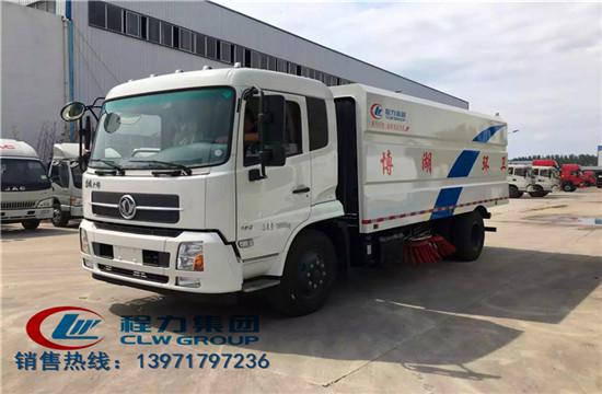 东风天锦扫路车|11吨扫路车