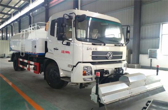 东风天锦路面清洗车︱10吨路面清洗车