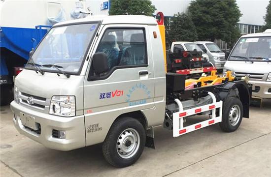 福田勾臂式垃圾车︱3方勾臂式垃圾车