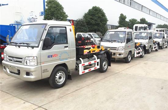 福田勾臂式垃圾车︱3方勾臂式垃圾车图片