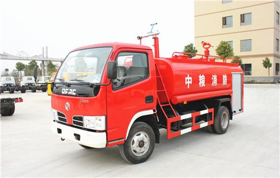 东风福瑞卡消防洒水车︱5吨消防洒水车