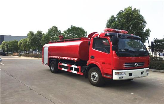 东风多利卡消防洒水车︱8吨消防洒水车