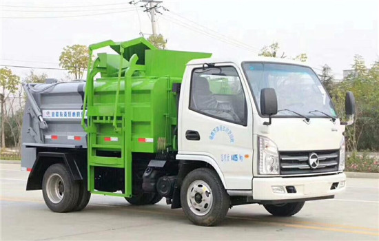 凯马餐厨垃圾车︱2吨餐厨垃圾车
