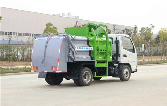 凯马餐厨垃圾车︱2吨餐厨垃圾车图片