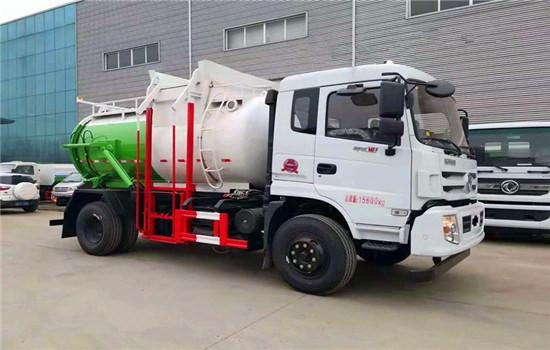 东风D913餐厨垃圾车︱10吨餐厨垃圾车图片